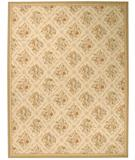RugStudio presents Due Process Aubusson Arras Ivory-Beige Flat-Woven Area Rug